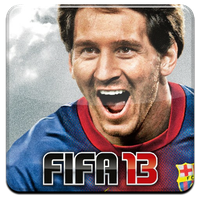 Fifa 13 HQ DOCK ICON with logo PNG by Djblackpearl