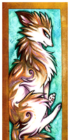 Aspen Bookmark by IceandSnow