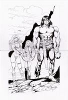 conan vs red sonja  arwin by amorimcomicart