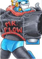 mister plow by prisonsuit-rabbitman