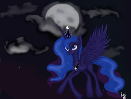 Midnight Fly by TARDISisblue