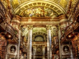 Austrian National Library 2 by pingallery