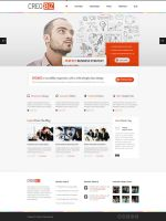 CreoBIZ a creative Corporate Website Template by the-webdesign