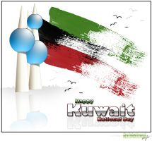 Kuwait National Day by HB84