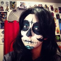 Sugar skull 2 by ElectricElements