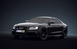 Audi RS5 in Studio by Teddyboer