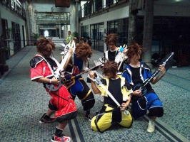 Rocking Sora's. by GrimoireCosplay