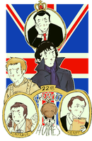 BBC Sherlock (Original T.A.B Style) by Happy-Bomber