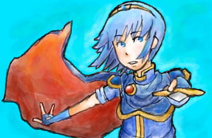FE: Marth by Perry-noid
