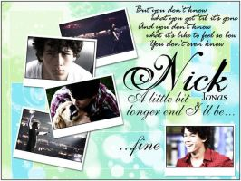 Nick J 'A Little Bit Longer' by JoeJonasFans92