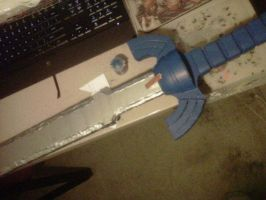 Master Sword finished for now.... by Scarlet-Impaler