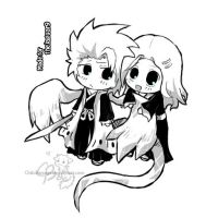 Sketch Request: Toshiro by chibibarrage