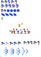 More SA2 sprites by dinojack9000