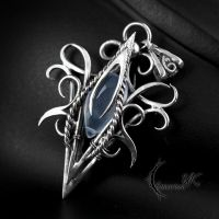 XANGDRAL - Silver and Chalcedony by LUNARIEEN