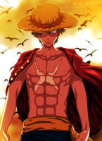 Luffy_Coloring_123uheb by mihawk69
