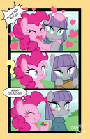 Maud And Pinkie (Comic) by DANMAKUMAN