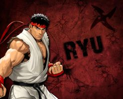 Ryu Street Fighter Wallpaper by 1KamZ