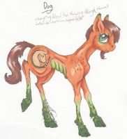 Equine Lineage: The Dog by HorseCookies