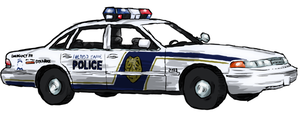 Police Cruiser by WhoDrewThis