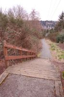 Rocky Trail Down Stairs by happeningstock
