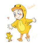 Ducky Niall by alexaride