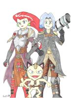 Team rocket inquisition by Bronzlelight