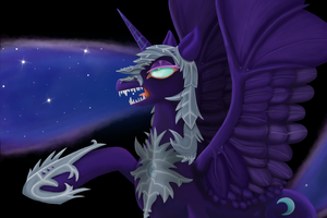Luna? I am Nightmare Moon! by EmeraldParrot