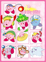 My top 10 Kirby Copy Abilities by takeashley