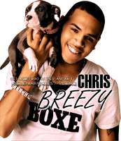 Chris Brown Colorization by asmith9O