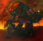 Final Battle: Link vs. Ganon by kykywka