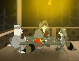Patio Poker by KrDoz