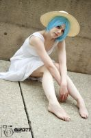 Rei Ayanami- Sundress by shelle-chii