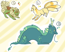 Mythical Creature Adopts NOW IN POINTS by coyvid
