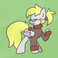 Intelligent Derpy by Phillnana