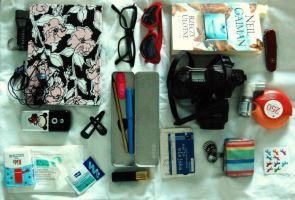 what is in my bag? by eferrina