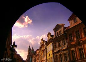 Prague on a smile by Theodorakis