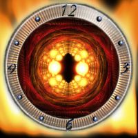 Sauron's Eye Clock by jlfarfan