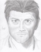 Supernatural - Castiel by vyvyan1rick