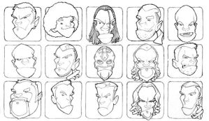 WWE Heads by The-G