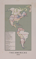 The Americas 1950 by Kuusinen