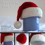 Free 3D model: Santa Hat by LuxXeon