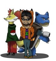 Sly play Pokemon! by Junjou-DeathNote