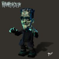 Frankenstein by muttleymark