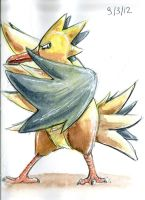Zapdos is cool. by UmbreoNoctie