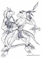 The Reptiles by megawolf77