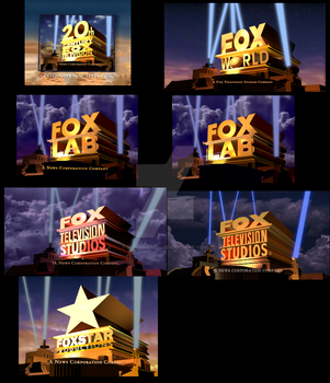 Other Releated Fox Television Remakes V2 by SuperMax124