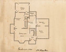 Blueprint: Floor 1 by BlueHecate