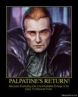 Palpatine's Return by katarnlunney