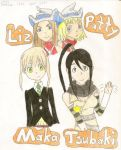 Soul Eater girls by Iloveyoukisshu