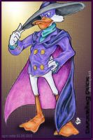 Darkwing Duck Poses by StephRatte